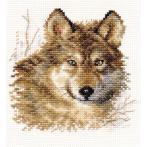 Stickpackung - Wolf