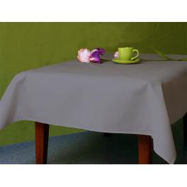Tischdecke Aida 110x160 cm schwarzgrau