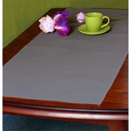 973-11 Tischläufer Aida 45x110 cm schwarzgrau