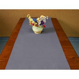 977-11 Tischläufer Aida 40x90 cm schwarzgrau