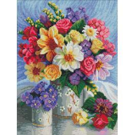 Diamond Painting Set - Grelle Blumen