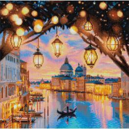 Diamond Painting Set - Abend in Venedig