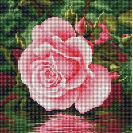 Diamond Painting Set - Rose am Wasser