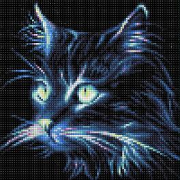 Diamond Painting Set - Neonkatze