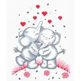 OV 479 Stickpackung - Kleine Elefanten