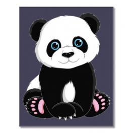MINI16130005 Set zum Malen nach Zahlen - Panda