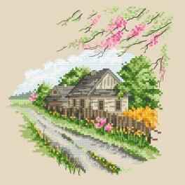 Z 10294 Stickpackung - Jahreszeiten - Bunter Frühling