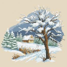 W 10297 Zahlmuster ONLINE pdf - Jahreszeiten - Schöner Winter
