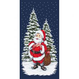 Z 10642 Stickpackung - Winter-Nikolaus