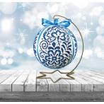 Stickpackung - Porzellanweihnachtskugel