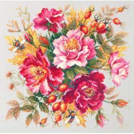 MN 140-002 Stickpackung - Magische Blumen - Rosen