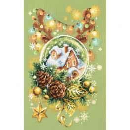 MN 100-245 Stickpackung - Erleuchtete Weihnachten