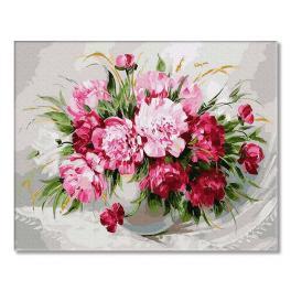 PC4050723 Malen nach Zahlen - Bunter Blumenstrauß
