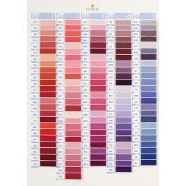 952 Stickgarn DMC - Wählen Sie die Stickgarnfarbe
