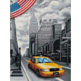 M AZ-1763 Diamond Painting Set - New York
