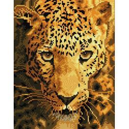 DD6.005 Diamond Painting Set - Durchstreifender Jaguar