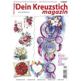 DKM 1/2021 Dein Kreuzstich Magazin 1/2021