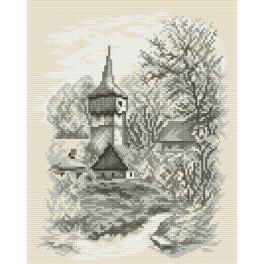 K 4035 Gobelin - Eine kleine Kirche