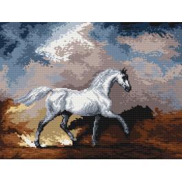 K 4030 Gobelin - Die Pferde während des Sturms - S. Gilpin