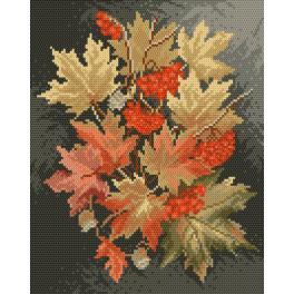 K 4017 Gobelin - Herbstlaub