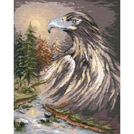 K 4508 Gobelin - Ein Adler - B. Sikora