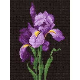 K 499 Gobelin - Die violette Iris