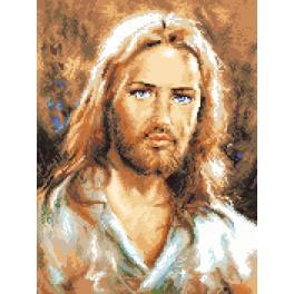 K 7311 Gobelin - Jesus Christus