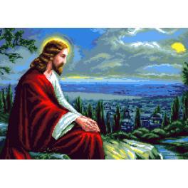 K 7314 Gobelin - Jesus Christus