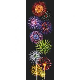 Z 10658 Stickpackung - Magie des Feuerwerks