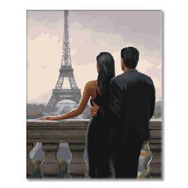SI mes7160 Malen nach Zahlen - Blick auf den Eiffelturm