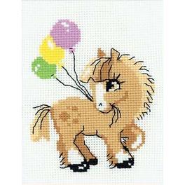 RIO HB093 Stickpackung mit Wollgarn - Pony