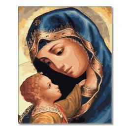 PC4050497 Malen nach Zahlen - Jungfrau Maria und Jesus