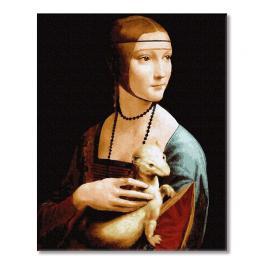 PC4050684 Malen nach Zahlen - Dame mit dem Hermelin, L. da Vinci