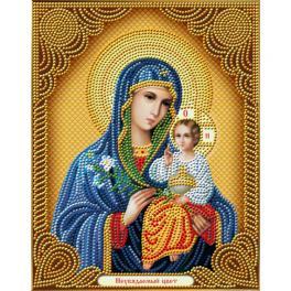 M AZ-5039 Diamond Painting Set - Ikone - Madonna Blume, die nie verblüh