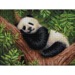 M AZ-1826 Diamond Painting Set - Schlafender Panda