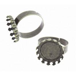 Basis für Ring Bronze Farbe 14mm