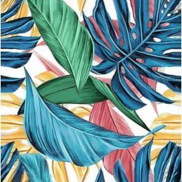ZTDE 7101 Diamond Painting Set - Tropische Blätter