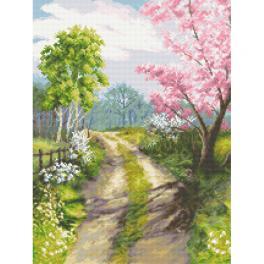GC 10311 Zählmuster - Wenn der Frühling erwacht