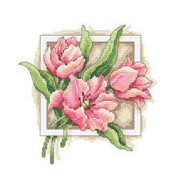 GC 10312 Zählmuster - Anmutige Tulpen