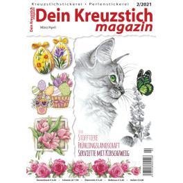 DKM 2/2021 Dein Kreuzstich Magazin 2/2021