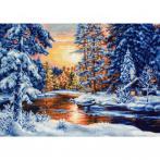 LS B477 Stickpackung - Winteransicht