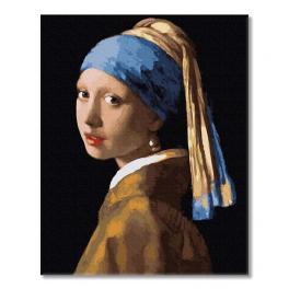 PC4050731 Malen nach Zahlen - Die Frau mit der Perle, J. Vermeer