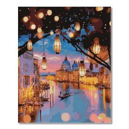 PC4050480 Malen nach Zahlen - Nachtlichter von Venedig