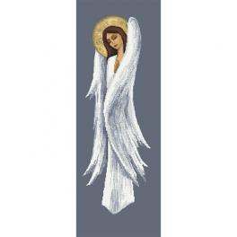 Z 10455 Stickpackung - Nachdenklicher Engel