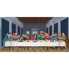 K 727 Gobelin - Das letzte Abendmahl - L. da Vinci