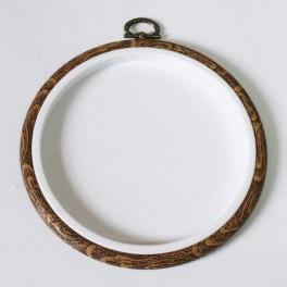915-08 Stickrahmen Kreis 12 cm