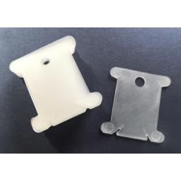 AC 6993 Wickelkarten aus Plastik 50 Stücke