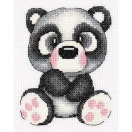 PA 8-372 Stickpackung - Panda Gigi