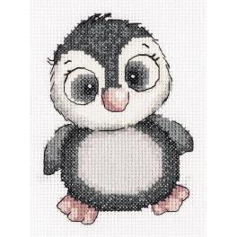 PA 8-369 Stickpackung - Pinguin Kiki
