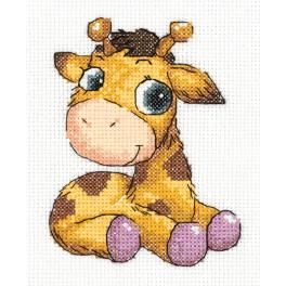 PA 8-362 Stickpackung - Giraffe Jojo